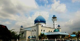 Mosque in Malaysia Royalty Free Stock Image
