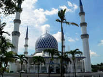Mosque in Malaysia Royalty Free Stock Images