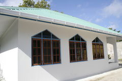 Mosque on Maldives Royalty Free Stock Photo