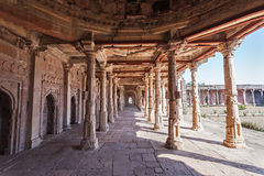 Mosque in Mandu Royalty Free Stock Photos