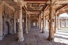 Mosque in Mandu. Old Mosque in Mandu, Madhya Pradesh, India Stock Photo