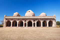 Mosque in Mandu Royalty Free Stock Photography