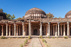 Mosque in Mandu. Old Mosque in Mandu, Madhya Pradesh, India Stock Images