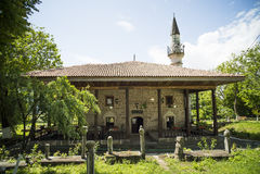 Mosque in Mangalia, Romania Royalty Free Stock Photos
