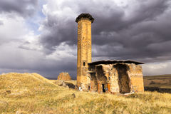 The mosque of Manuchihr in Ani, Kars, Turkey Stock Photography