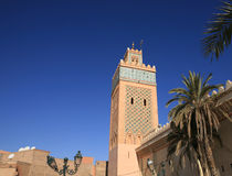 Mosque in Marrakech, Stock Photography