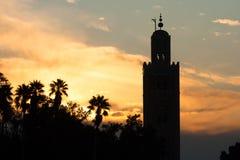 Mosque Marrakech, Morocco Stock Photos