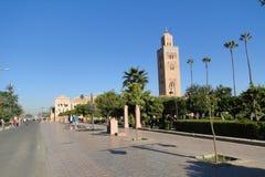 Mosque in Marrakech royalty free stock photos