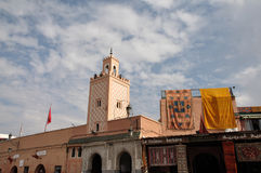 Mosque in Marrakesh Stock Photography