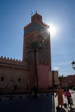 Mosque in Marrakesh, Morocco Stock Images