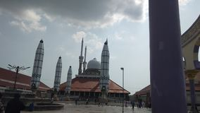 Mosque. Masjid Jawa Tengah Indonesia Stock Photography