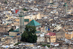 Mosque in the medina of Fes Stock Image