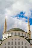 Mosque, Mersin/Turkey. Mosque. Mersin/Turkey, Mosque and clouds Stock Photography