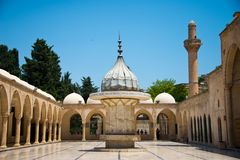 Mosque Mevlid-i Halil Camii royalty free stock images