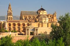 Mosque, Mezquita  old town of Cordoba Royalty Free Stock Photo
