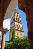 Mosque, Mezquita tower in Cordoba Stock Photography