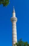 Mosque minara in Turkey stock photo