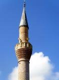 Mosque Minaret. A mosque minaret in Turkey Stock Photo