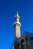 Mosque minaret stock photo