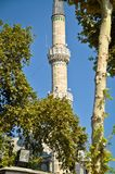 Mosque and Minaret Blue Mosque stock images