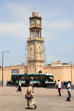 Mosque minaret in Casablanca, Morocco Royalty Free Stock Image