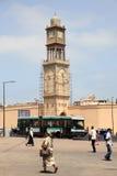 Mosque minaret in Casablanca, Morocco Royalty Free Stock Image