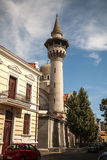 Mosque and minaret in Constanta. Royalty Free Stock Photo