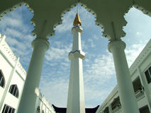 Mosque minaret, Malaysia Royalty Free Stock Images