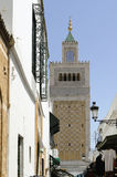 Mosque minaret or tower Royalty Free Stock Photos