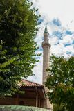 Mosque minaret tower Royalty Free Stock Photo