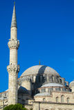 Mosque minaret in Turkey Royalty Free Stock Image