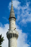 Mosque minaret in Turkey Royalty Free Stock Photo