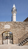 Mosque and Minaret, Tyre Lebanon royalty free stock image