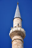 The mosque minarete Stock Photo