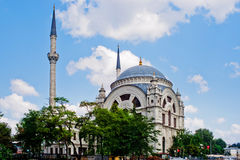 Mosque and minarets Stock Photography