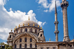 Mosque and minarets Stock Photos