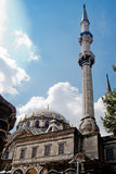 Mosque and minarets Royalty Free Stock Photos