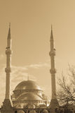 Mosque and minarets Stock Photo