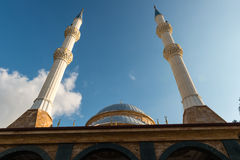Mosque and minarets Royalty Free Stock Images