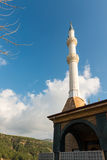 Mosque and minarets Royalty Free Stock Photography