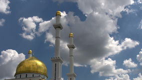 Mosque and Minarets stock footage
