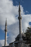 Mosque minarets Stock Photo