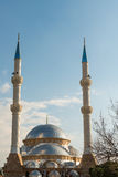 Mosque and minarets Stock Photos