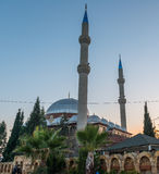 Mosque and minarets Royalty Free Stock Photo