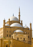 Mosque of Mohamad Ali. At Salah Al Din Citadel, Cairo, Egypt Stock Photos