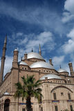 Mosque of Mohamed Ali. The Mosque of Mohamed Ali in the Cairo Citadel Royalty Free Stock Photos