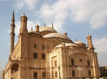 Mosque Mohamed Ali at Cairo Citadel Stock Image