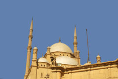 Mosque of Mohamed Ali. The Saladin Citadel of Cairo, Egypt Royalty Free Stock Photos