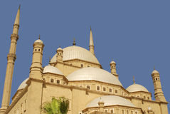 Mosque of Mohamed Ali. The Saladin Citadel of Cairo, Egypt Royalty Free Stock Image