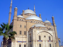 Mosque of Mohammad Ali. Beautiful mosque of Mohammad Ali in Cairo Royalty Free Stock Image